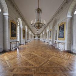 parquet Versailles a quadrotte nella Reggia di Versailles